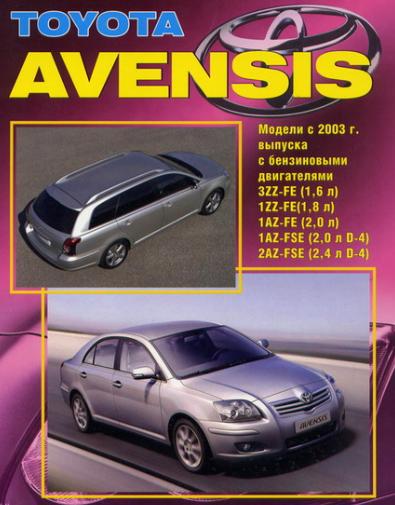 скачать руководство по эксплуатации тойота авенсис 1997